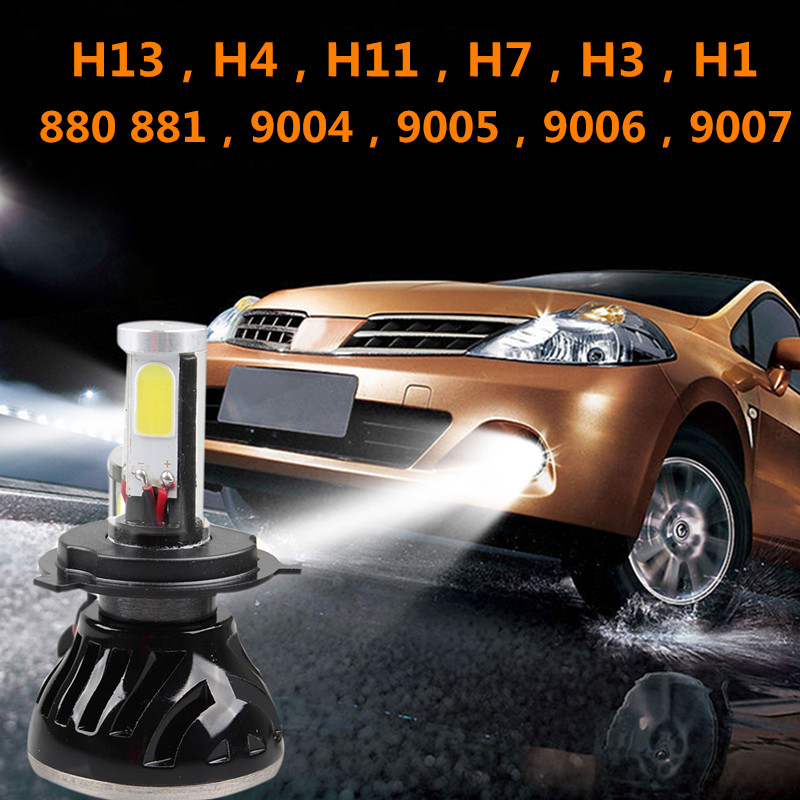 ФОТО Good 1 set 80W 8000LM 6000K G5 H7 H1 H3 H4 H11 9005 9006 9004 9007 H13 880 881 auto car led headlight led headlamp