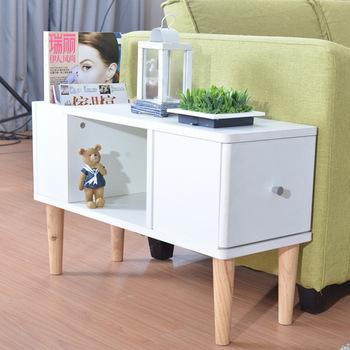 Stół konsolowy meble do salonu drewniane meble domowe minimalistyczne nowoczesne biurko stolik basse stolik 745*28*51 CM nowy tanie i dobre opinie Meble do domu Stół konsoli Minimalistyczny nowoczesny ROUND Drewna Ecoz 745*280*510MM Sosna