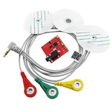 Мышцы сигнал ЭМГ Сенсор модуль Grove интерфейс DIY Kit