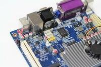 ファン レス 3.5 インチ産業制御マザー ボード n455 プロセッサ atom n455 デュアル コア cpu コンピュータ pc メイン ボー