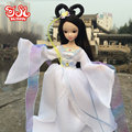 29cm White Fairy Ancient Costume Doll 2016 New Kurhn Chinese Doll  Princess Bjd 1/6 Jointed Doll Kids Toys  Girls Birthday Gift
