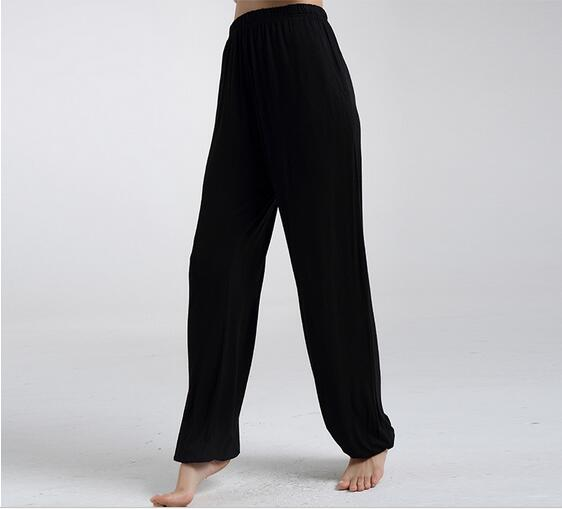 Spring Summer Women's Trousers For Home Pajama Bottoms Cotton Sleep Pants Women Pajama Trousers Black Plus Size XL-XXXL Q207 1