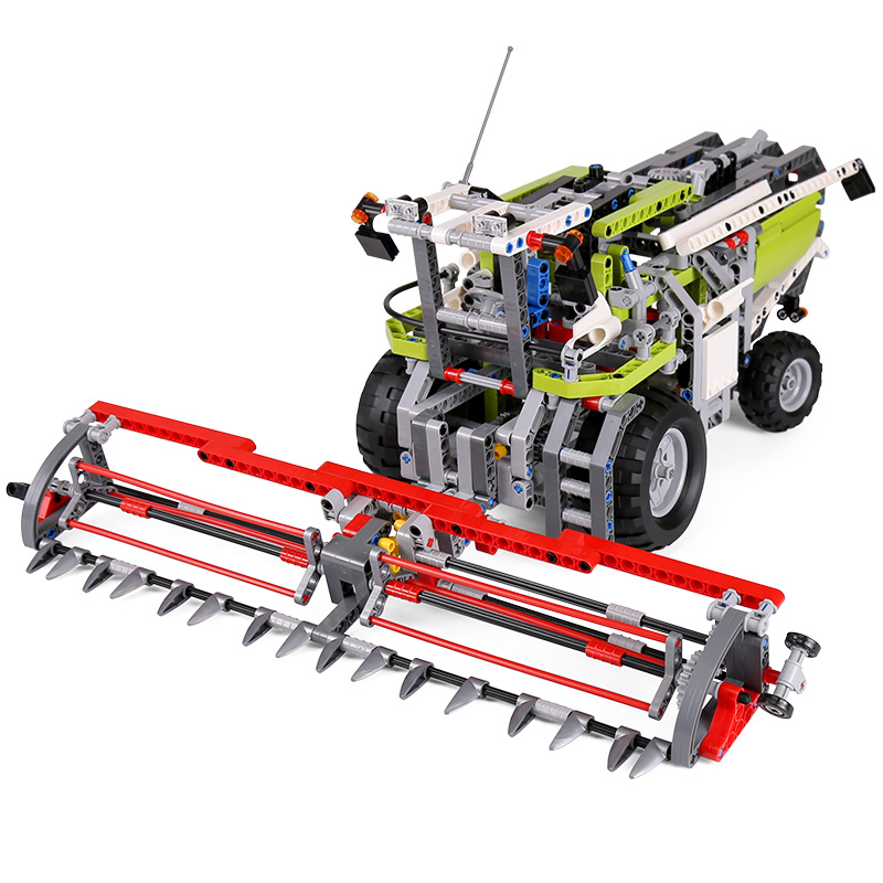 Lepin 20041 1107Pcs Genuine Technic Series legoing Combine Harvester Set 8274 Educational Building Block Bricks Toys Model Gift lepin 22001 pirate ship imperial warships model building block briks toys gift 1717pcs compatible legoed 10210