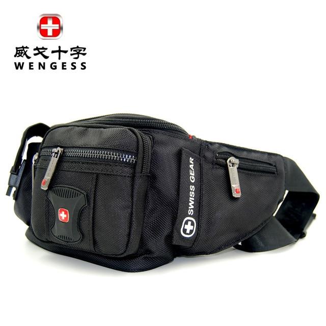 2017 Men Waist Bag Nylon Waterproof Pack Motorcycle Travel Money Phone Multi