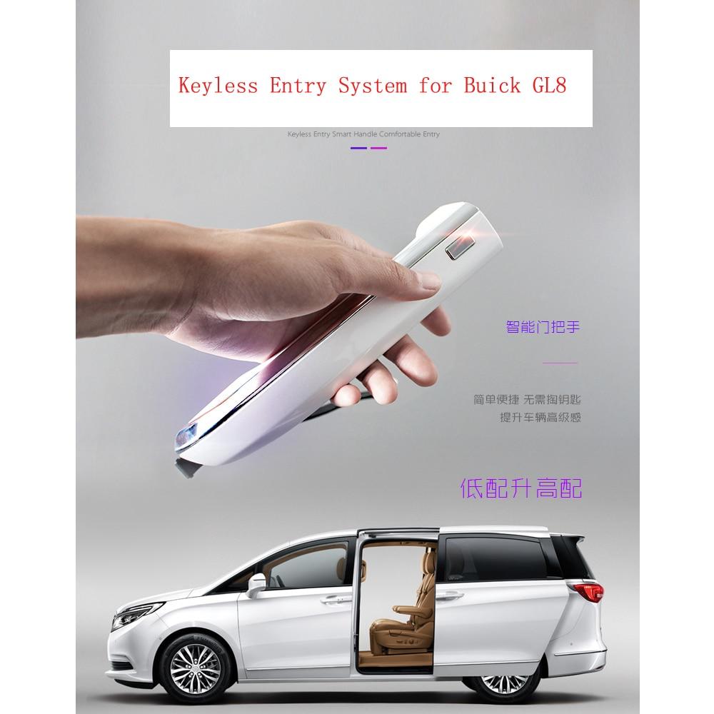 Système d'entrée sans clé pour GM Buick GL8 28 T télécommande originale avec 1 poignée de voiture facile à installer