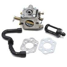 Zama Carburetor Carb Gasket Fuel Filter Hose Kit For STIHL MS 180 170 MS180 MS170 018