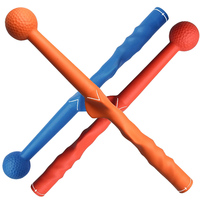 Golf Swing Stick Beginner Practice Hand Grip Trainer Golf Swing Trainer