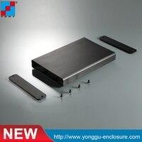 99*20-70mm (WxH-D) 압출 알루미늄 전자 인클로저/oem 알루미늄 압출 케이스