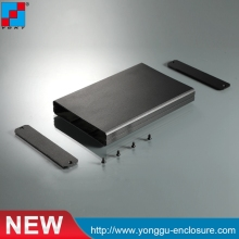 цена на 99*20-70mm (WxH-D) extruded aluminum electronic enclosures/oem aluminum extruded case