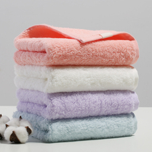 34*74CM super soft 100% long-staple cotton twisting free towel pink white purple bule solid hair towel couple lovers face towel origial xiaomi zsh towel powerful absorption antibacterial long staple cotton sealed packaging youth series white