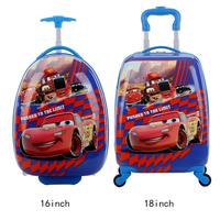 Kids Suitcase Children Travel Trolley Suitcase wheels toy for kids Rolling luggage suitcase Child schoolbag 3D Cartoon kid's box
