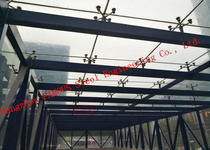 Integrated Photovoltaic Fatades Solar Modules Glass Curtain Wall With Single Crystal Component