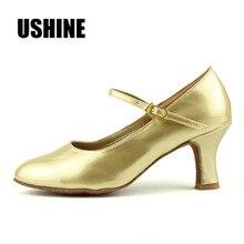 Heel 7cm Black Gold Silver Salsa Ballroom Dance Shoes Zapatos Salsa Mujer Zapatos De Baile Latino Mujer Latin Dance Shoes Woman