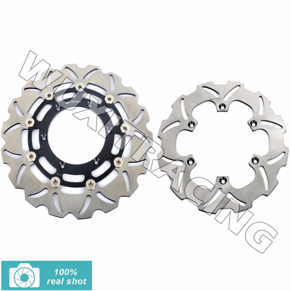 310мм 2шт+240мм Новый полный комплект передние задние тормозные диски ротора для Сузуки ДРЗ 400 см теннисный корт 2005-2010 2006 2007 2008 2009