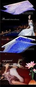 Image 5 - 4 color conversion Crystal Ceiling Chandelier LED Chandelier Modern Living Dining Hotel Room Crystal Lighting rty 1