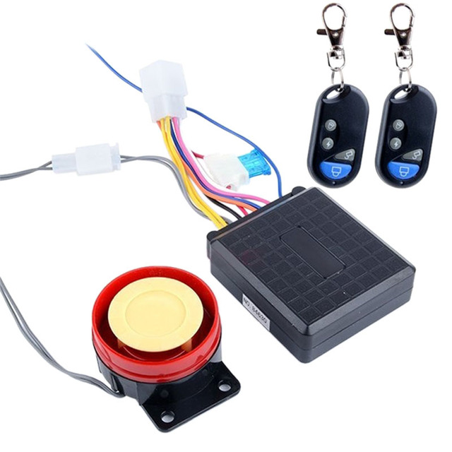High quality Motorcycle Alarm System Anti-theft Serviceable Security System Remote Control