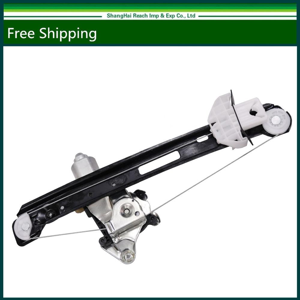 Free Shipping New Rear Right Passenger Side Power Window Regulator W/Motor For Ford Focus OE#: 135-01825R, 6S4Z5427000A,741-585 window regulator motor for toyota camry window lifter motor 85720 33120