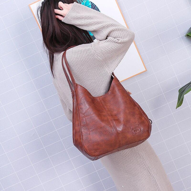 8e103fdb22 Morbido Pu In Principali Nero Pelle 2019 Donna brown Designer Moda Borse  Sac Lusso Dell'annata Uno Hot Delle Di Donne Il Dei Marca 8zR0qw