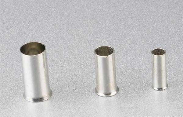 26AWG 500 O//A L: 10mm-Pin L: 6mm 9005180000 Wire End Ferrule //Pkg Grey 5 sub-packs
