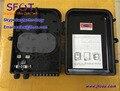 FTTH Fibra óptica caja de terminales para Splitter, negro Color.16 Cores. a prueba de Agua, A Prueba de polvo, Nivel de protección IP65