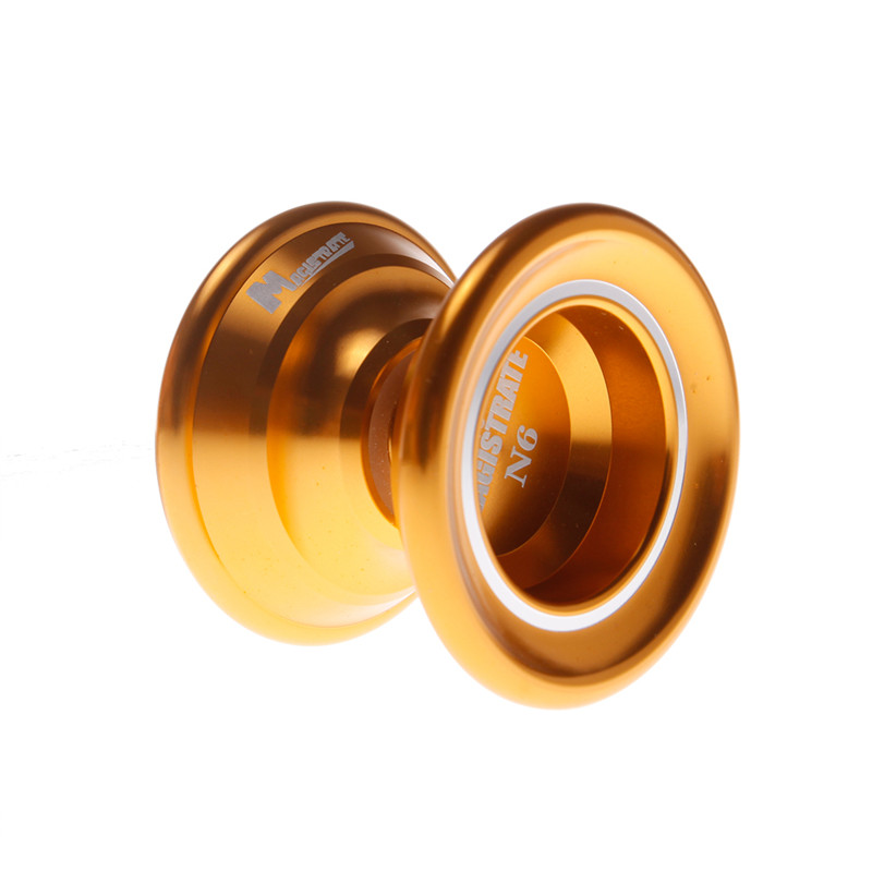 Golden/Red/Silver Christmas Gift Magic Yoyo N6 Professional Gaming Yoyos 1A 3A 5A Toy Yo Yo Ball for Boys Yo-yo for Girl