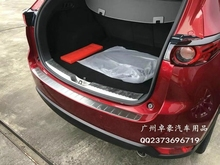 MONTFORD Fit For Mazda CX-5 CX5 2017 2018 Stainless Steel Inner Outer Rear Bumper Plate Cover Trims Protector Frames Car Styling