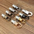 10mm Thread M10 Retro Antique Vintage Metal Ceiling Rose Light Chandelier Hook With Screw Fittings Opening Smooth Style