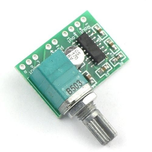 Mini PAM8403 DC 5V 2 Channel USB Digital Audio Amplifier Board Module 2 * 3W Volume Control With Potentionmeter Switch