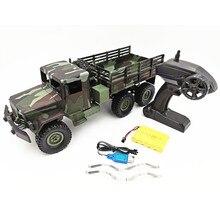 MN Model MN77 1/16 2.4G 6WD Rc samochód z LED Light kamuflaż wojskowy terenowy zdalnie sterowany samochód gąsienicowy zdalnie sterowana ciężarówka RTR zabawki