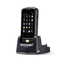 high quality large screen smart phone 1d bluetooth android barcode scanner pda