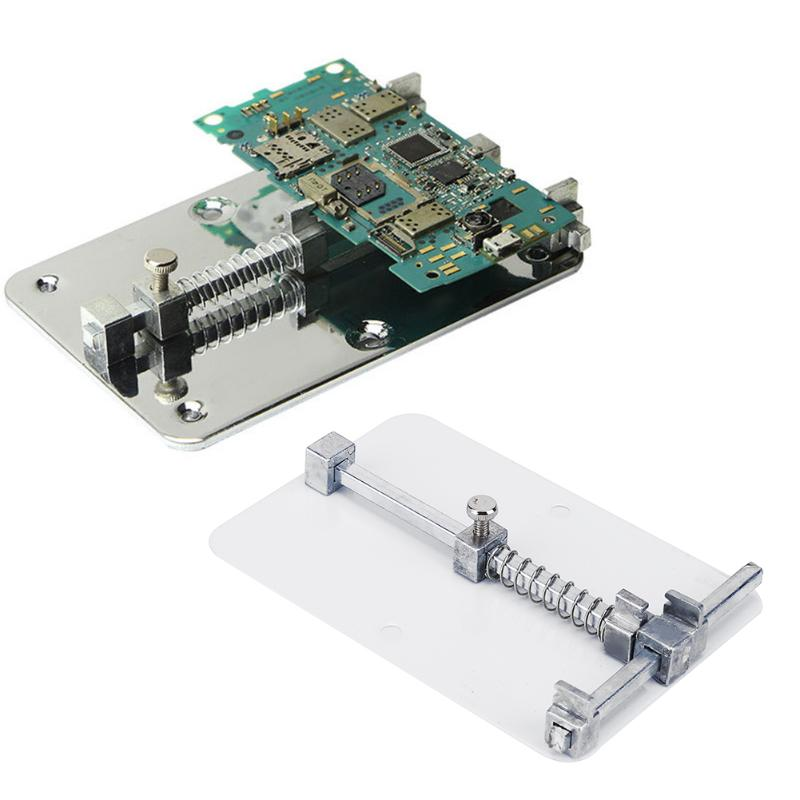 mobile-phone-pcb-board-repair-fixture-holder-work-station-platform-fixed-support-clamp-steel-pcb-board-soldering-repair-holder