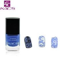 KADS Hot Fashion Charming Orchid Nail Art Stamp Glitter Polish Nail