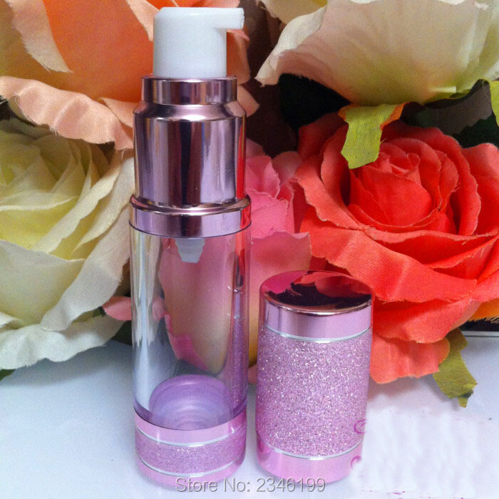 15ML 30ML 50ML rózsaszín légtelen üveges köd spray spray - Bőrápolási eszközök