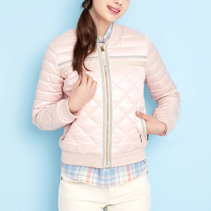 Winter Jacket Coat Women 2017 New Winter Women Parka Short Slim Thickening Down Cotton-padded Jacket Female Outerwear pink white new cotton padded winter jackets women fashion short down parka light women s winter jacket coat short female water proof jacket