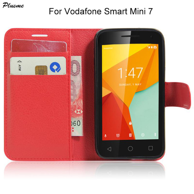 best website 32dec 13e3b US $4.84 |Plusme For Vodafone Smart Mini 7 Case Hight Quality Flip PU  Leather Wallet Case For Vodafone Smart Mini 7 Back Cover Bags Coque-in  Wallet ...