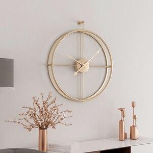 Image 5 - 80CM Große Wanduhr Moderne Design Uhren Für Wohnkultur Büro Europäischen Stil Hängenden Wand Uhr Uhren
