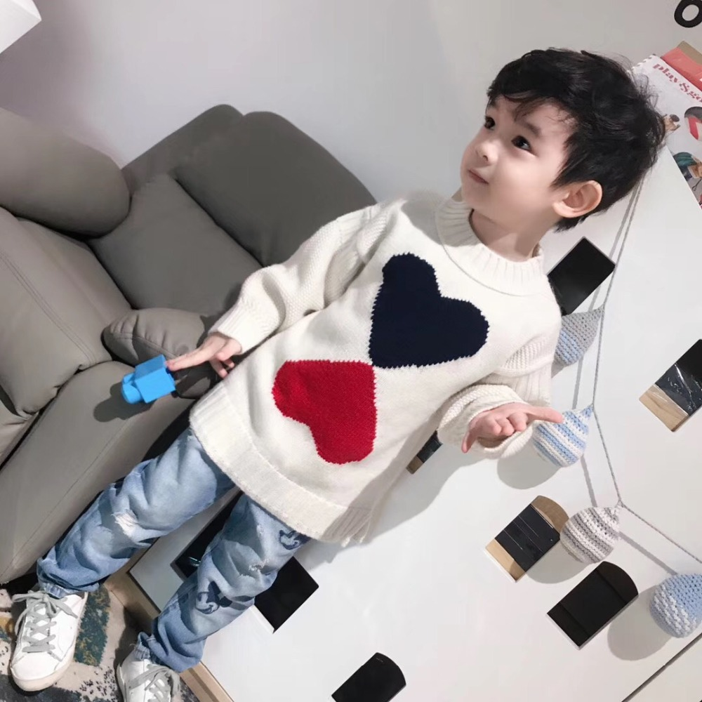 Girls boys ribbed sweater 70% Merino Wool baby girl sweaters winter 2018 girl boys pullover thick warm sweaters все цены
