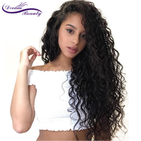 Lace Frontal Wig Pre Plucked With Baby Hair Brazilian Deep Curly Remy Lace Front Human Hair Wigs For Women Dream Beauty