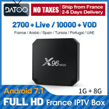 IPTV France Arabic X96 mini Italy French Qatar IP TV Belgium Tunisia Subscription Box Portugal UAE