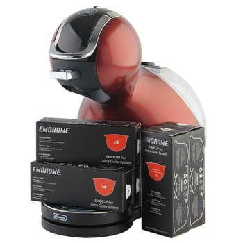 EMOHOME Reusable Refillable Coffee Capsules Compatible with Dolce Gusto Nescafe System, not machine, wholesale - DISCOUNT ITEM  10% OFF All Category