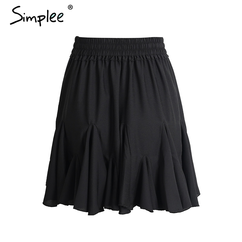 HTB1ECtvRpXXXXclaXXXq6xXFXXXq - High waist sexy short pleated skirt 2017 PTC 247