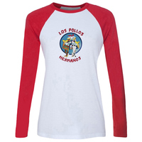 Women S T Shirt Breaking Bad LOS POLLOS HERMANOS The Chicken Brothers Walter White Jesse Pinkman