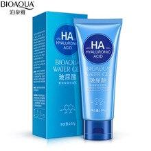 BIOAQUA hyaluronic acid facial cleanser moisturizing whitening   acne Face Care Deep cleansing exfoliator Pore Skin Care 100g
