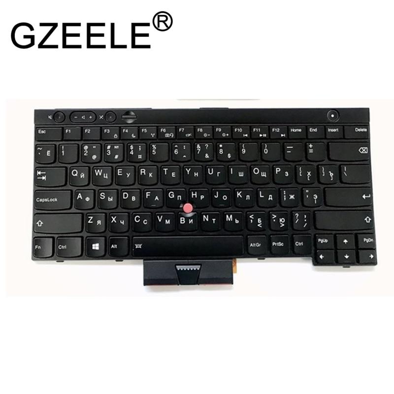 GZEELE New For ThinkPad L430 L530 T430 T430S X230 W530 T530 04X1224 04X1300 04X1338 04W3048 04W3123 RU Russian Laptop Keyboard