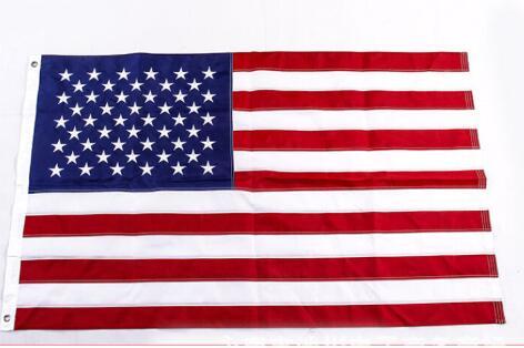 YENİ 90x150cm yüksək keyfiyyətli Amerika Bayraq Neylon bayrağı - Ev dekoru - Fotoqrafiya 1