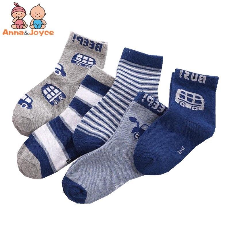 Offizielle Website 20 Paare/los Neue Herbst Und Winter Baumwolle Kinder Socken In Rohr Kinder Karton Auto Socken 1 Bis 12 Jahre