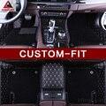 Пользовательские подходят автомобильные коврики для Toyota Sienna XL30 XL20 7/8 мест MPV 3D Всепогодная защита авто-Стайлинг ковер Роскошные вкладыши