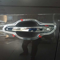 For Hyundai Tucson SUV 2016 2017 ABS Chrome Side Door Handle Bowl Cover Trim Outer Door