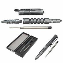 New Arrival For Creative B8 Aviation Aluminum Tactical Pretend Pen For Self Defense Survival Tool