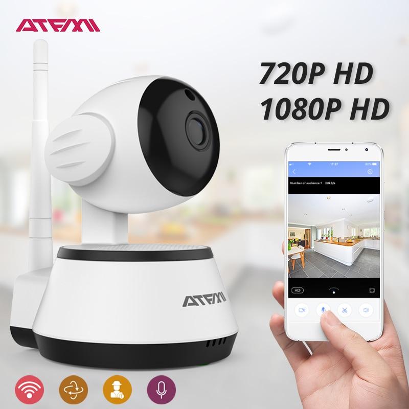 ATFMI 720P 1080P WIFI Camera ip surveillance security cctv camera Pan-Tilt Control SD storage Two-way Audio Motion Detection 1080p wifi wireless security ip camera p2p pan tilt two way audio